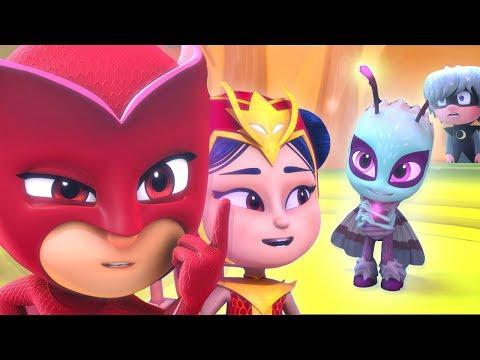 PJ Masks Episodes CLIPS ❤️ Best of Owlette An Yu Luna Girl ❤️Women s Day Cartoons for Kids