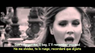 Adele - Someone Like You (Lyrics & Sub Español) Official Video
