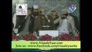 Punjabi Sufiana Kalam( Maidah Ishq V Tu )19-012014 Tasleem Sabri At Lahore.By Visaal