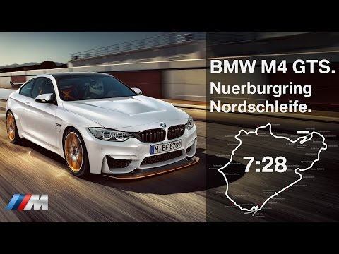 BMW M4 GTS Fast Lap Nuerburgring Nordschleife.
