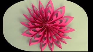 كيف تصنع زينة جميلة من الورق
