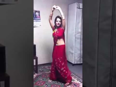 A. 1. dance teej 1 red saree dance
