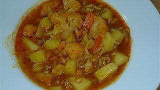 Patatesli Karnabahar Yemeği Tarifi | Sebze Yemekleri
