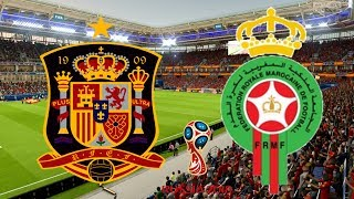 World Cup 2018 - Spain Vs Morocco - 25/06/18 - FIFA 18