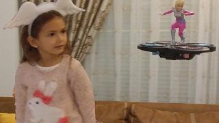 Barbie uzay macerası drone, elife değil bize oyuncak, eğlenceli çocuk videosu