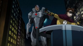 Justice League vs. Teen Titans - Clip