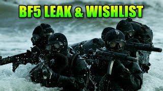 Battlefield 2018 Leak & Wishlist