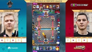 [GRAND FINAL] TOBI SPIRITHAWK VS ISSHO SAN | CLASH ROYALE A1 ESPORTS LEAGUE AUSTRIA