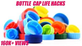 5 Awesome Ideas With Plastic Bottle Lids | Amazing Plastic Bottle Cap Life Hacks