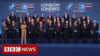 NATO 70th Anniversary: Trump and Trudeau clash over 'two-faced' comments- BBC News