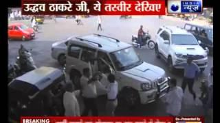 Shiv Sena man beats up woman traffic cop