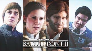 Star Wars Battlefront 2 All Original Trilogy Character Scenes