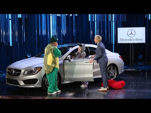 Who Will Win a Mercedes Benz