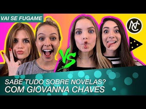 GIOVANNA CHAVES NO VAI SE FUGAME DE NOVELAS DO SBT