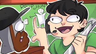 LEGIQN LEARNS TO PLAY PROP HUNT! - Gmod Funny Moments