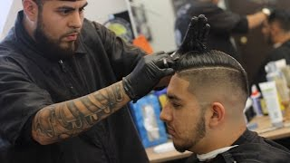 Featured Barbers #5; Empire Barber Club; by MarioNevJr