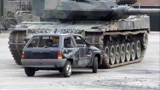 Big Truck Crush   Tank Car Crushed