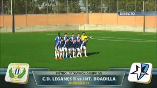 Fútbol 16-17: Getafe B-Inter Boadilla