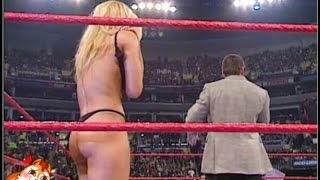Trish Stratus Forced To Strip By Vince McMahon