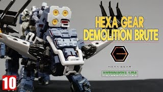 [REVIEW 2.0] 코토부키야 1/24 헥사 기어 데몰리션 브루트 / DEMOLITION BRUTE