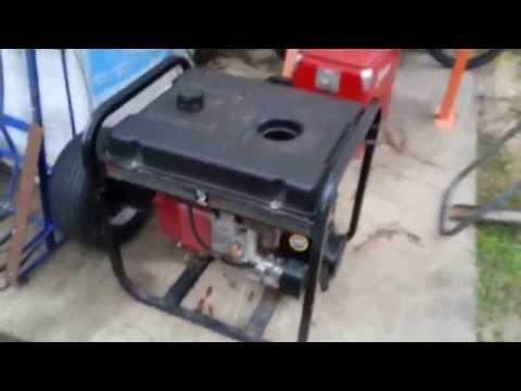 Coleman 5 000 Watt Generator REVIEW AND WALK AROUND