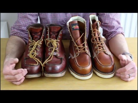 RED WING 875 Vs THOROGOOD Which is the best moc toe boot