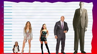 How Tall Is Jennifer Lopez? - Height Comparison!