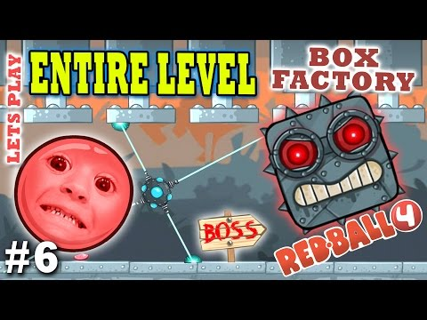 Xxx Mp4 Chase Dad Play RED BALL 4 BOX FACTORY ENTIRE LEVEL W BOSS THE END Part 6 Gameplay 3gp Sex