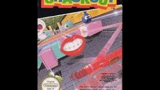 30 mins of Crackout NES 1986