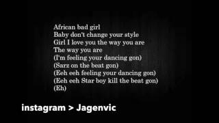 WizKid ft Chris Brown African Bad Girl Official lyrics