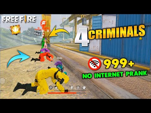 No Internet Prank in Clash Squad Free Fire 😂 FIREEYES GAMING GARENA FREE FIRE
