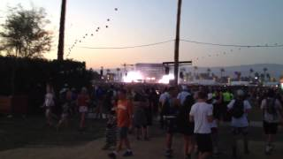 Calvin Harris at Coachella 2014 Feel so Close