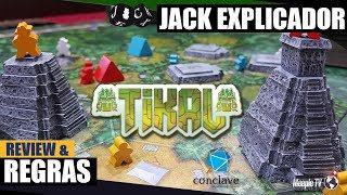 Tikal - Review & Regras - Jack Explicador