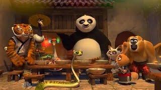 Finally Panda returns to his true home  - Hindi