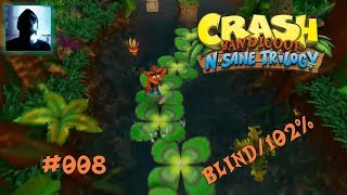 Lets Play Crash Bandicoot Vol.8 (German/PS4/N-Sane Trilogy) [Blind/Platinum Trophy Challenge]