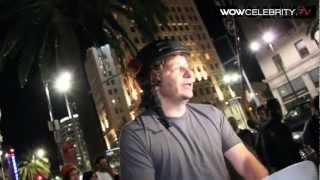 Comedian Jeffrey Ross roasting the paparazzi at Katsuya in Hollywood
