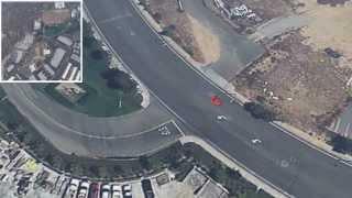 Paul Walker Crash Site 3D Reconstruction