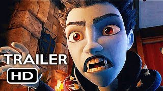 The Little Vampire Official Trailer #1 (2018) Animated Kids Movie HD