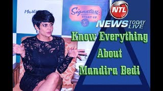Mandira Bedi All About her Movies  Modeling Height Crush
