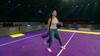 Actress Rakul Preet's attempt at #DizzyKabaddi