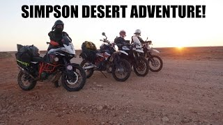 Simpson Desert Adventure! KTM 690 - Part 1 Of 6