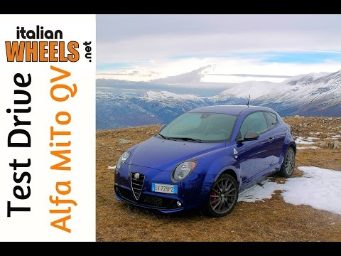 Test Drive Alfa Romeo MiTo Quadrifoglio Verde