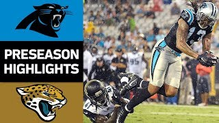 Panthers vs. Jaguars | NFL Preseason Week 3 Game Highlights