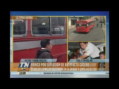 Xxx Mp4 Explosión Durante Asaltó A Bus En La Zona 7 3gp Sex