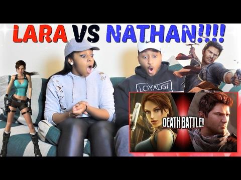 Xxx Mp4 ScrewAttack Lara Croft VS Nathan Drake DEATH BATTLE Tomb Raider VS Uncharted REACTION 3gp Sex