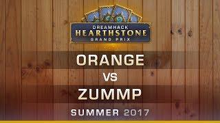 HS - Orange vs Zummp - Semi-finals - Hearthstone Grand Prix DreamHack Summer 2017