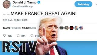 El Polémico tweet de Trump hace Morir de rabia a los illuminatis franceses