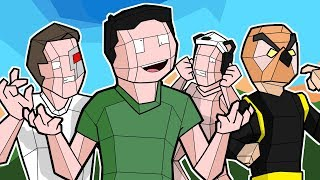 Nogla & Vanoss vs Terroriser & Panda in BEST FPS GAME EVER! - Shooty Squads Funny Moments