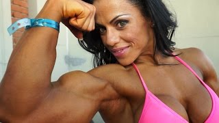 Mavi Gioia, one of the most beautiful female bodybuilder ever