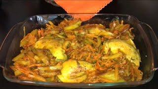 طرز تهيه خوراک مرغ تهرونی همراه با خاله سیما